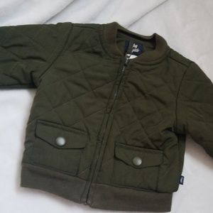 Baby b'gosh army green Jacket